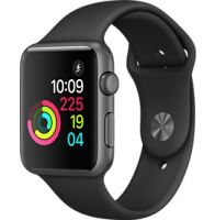Apple Watch (Series 2) 42mm Space Grey Aluminium Case Excellent Condition