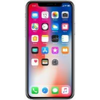 Apple iPhone X 256GB Silver (Unlocked) Excellent
