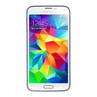 Samsung Galaxy S5 G900F (Shimmery White , 16GB) (Unlocked) Good