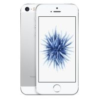Apple iPhone SE (Silver, 16GB) - (Unlocked) Excellent